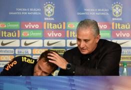 Neymar rechaça problemas no PSG e chora com Tite