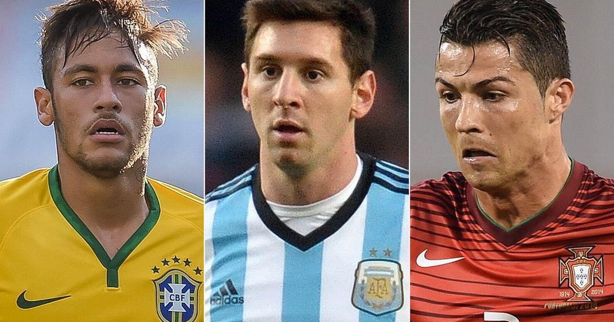 Neymar Messi and Cristiano Ronaldo - Depois de Neymar e Messi, Estado Islâmico ameaça Cristiano Ronaldo