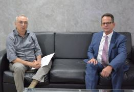 Secretário chefe de Gabinete do governo da Paraíba visita presidente da CMJP