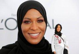'Sonho de criança', diz medalhista olímpica que inspirou 1ª Barbie com véu islâmico