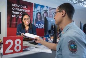 bradesco 2 300x202 - Servidor da PMJP tem até este sábado para abrir conta no Bradesco
