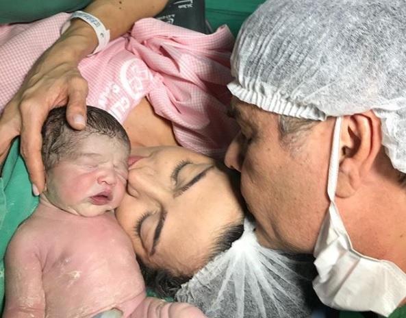 cassio filho 1 - NASCEU VINÍCIUS: Senador Cássio publica foto do seu primeiro filho com nova esposa