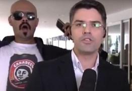 VEJA VÍDEO: Homem invade ao vivo da Rede Globo e grita 'Globo lixo'