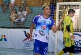 Paraibano é convocado para seleção brasileira de futsal