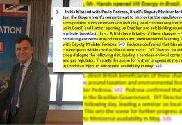 BRASIL 247: Documento comprova como Temer trabalha para a Shell