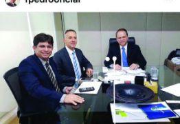NINJA NA REDE: Em Brasília, prefeito de Lagoa de Dentro solicita ambulância do SAMU para o município