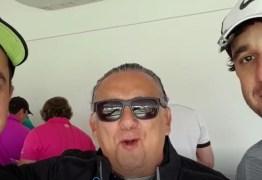 Jogadores de golfe da PB se destacam em torneio de Rubens Barrichello; Galvão grava vídeo para os paraibanos
