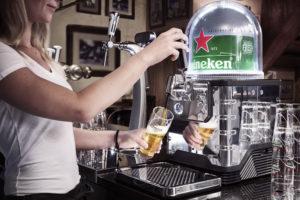 máquina de chope espresso 300x200 - VEJA VÍDEO: Empresa lança máquina de chope em cápsulas