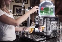 VEJA VÍDEO: Empresa lança máquina de chope em cápsulas