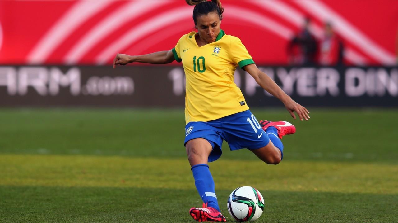 marta - Após ser eleita melhor do mundo pela Fifa, Marta concorre à Bola de Ouro