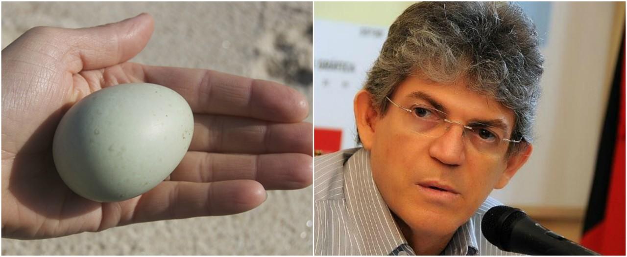 ovodepata - OUÇA: Antônio Mineral compara Ricardo Coutinho a 'galinha' põe o ovo e divulga bem