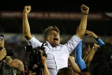 Grêmio renova com Renato Gaúcho até o fim da temporada de 2021