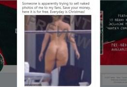 Cantora Sia se antecipa a hackers e publica nude que eles tentavam vender