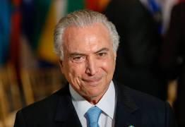 """""""Candidato de oposição vai ter muita dificuldade para falar contra o governo"""", diz Temer"""