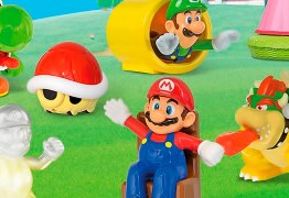 Mantendo a parceria Mario e sua turma voltam ao McDonald's