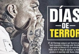 Jornal peruano se desespera com possibilidade de Guerrero jogar pelo Fla