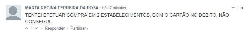 01 - Clientes do Banco do Brasil têm dificuldades para realizar operações nesta Quarta-feira