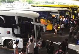 Rodoviária de João Pessoa oferece ônibus extras durante o Natal