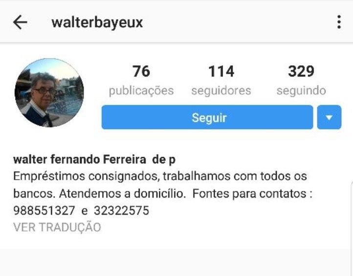 """BABA - Internauta reage a 'censura' de Tovar em rede social: """"Tudo farinha do mesmo saco, por isso é que voto em Bolsonaro"""""""