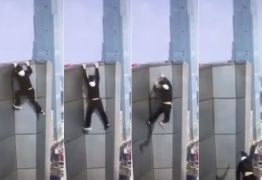 Escalador chinês grava a própria morte ao cair do 62º andar de um prédio -VEJA VÍDEO