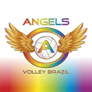 LOGO ANGEL VOLLEY - Time gay de vôlei tem ajuda de campeãs olímpicas e tenta disputar Mundial -VEJA VÍDEO
