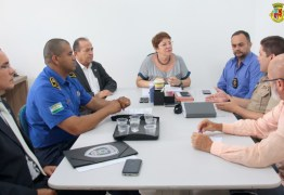 Prefeita de Conde discute medidas para ampliar a segurança no município