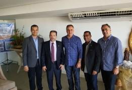 Luciano celebra parceria com o PRB na gestão de João Pessoa