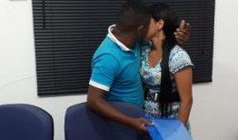 A SENTENÇA DO AMOR: Durante audiência de pensão para filho, casal reata casamento