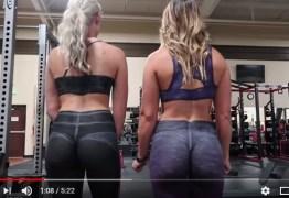 VEJA VÍDEO: Duas garotas vão a academia 'vestidas de pintura' e ninguém percebe que estão nuas