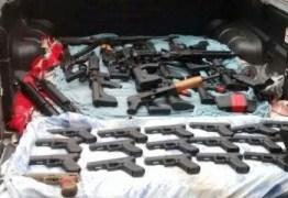 Armas ilegais entram pelo Uruguai e abastecem facções criminosas do Brasil