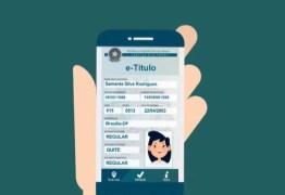 TSE lança título digital que poderá substituir documento convencional na hora da votação