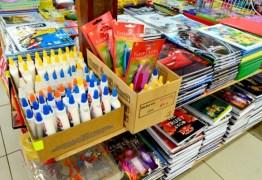 Variação nos preços de material escolar chega a 712,90%