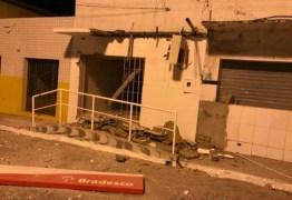 Bandidos praticam assaltos e explosões em várias cidades do interior da Paraíba
