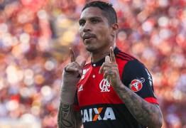 No STJD, Flamengo busca garantia para poder escalar Paolo Guerrero