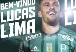 Cláusula pode permitir que Lucas Lima saia do Palmeiras antes do fim do contrato