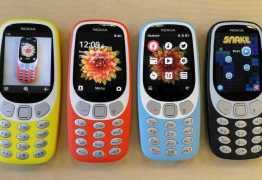 Nokia 3310 terá edição especial com 4G e WhatsApp