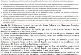 Questão de prova de concurso da UEPB é anulada