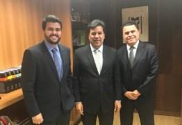 Em Brasília, Wilson Filho solicita mais carros-pipa para a Paraíba