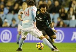 """""""Parece que estamos afundando"""", diz Marcelo sobre situação do Real Madrid"""