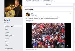 """Lula divulga vídeo da posse em 2003: """"Já imaginou Bonner ter que anunciar isso de novo?"""""""