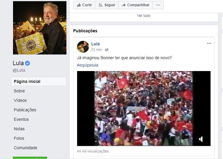"""Capturar 12 - Lula divulga vídeo da posse em 2003: """"Já imaginou Bonner ter que anunciar isso de novo?"""""""