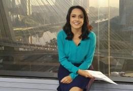 Jornalista da Globo tem inflamação após espremer espinha
