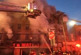 Incêndio em Nova York deixa ao menos 12 feridos