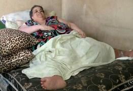 Falece em São Paulo dona de casa que pesava 300 kg