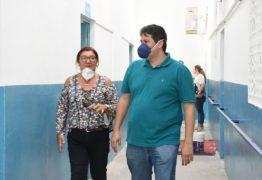 Dinaldinho Wanderley visita escolas da rede municipal em reforma