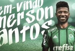 Palmeiras anuncia contratação do zagueiro Emerson Santos