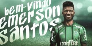 emersonsantos 300x150 - Palmeiras anuncia contratação do zagueiro Emerson Santos