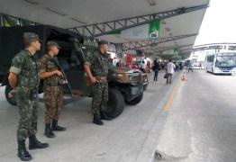 Exército faz a segurança em pontos de Campina Grande e a população relata maior sensação de segurança