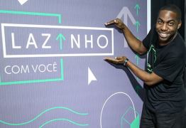 """Globo está irritada com Lázaro Ramos e o programa """"Lazinho com Você"""""""