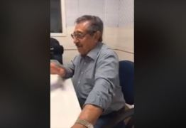 VEJA VÍDEO: Maranhão se descuida em intervalo de entrevista e menospreza pré candidatura de Luciano Cartaxo